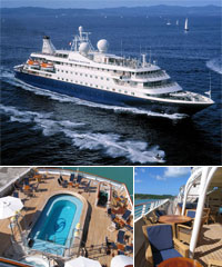 Seadream Mini Cruise Ship Charter
