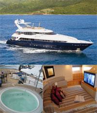 Sedation Mega Yacht Charter